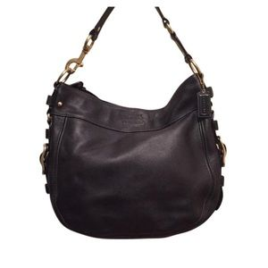 Coach | Zoe XL Leather Hobo Bag